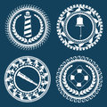 Nautical Symbols 2 Royalty Free Stock Photo