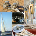 Nautical theme Royalty Free Stock Photo