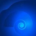 Nautilus-seashells-LIT-EFFECT-BLUE-OCEAN