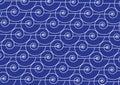 Nautilus shell pattern marine background Royalty Free Stock Photo