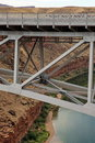 Navajo Bridge Marble Canyon Arizona Royalty Free Stock Photo