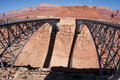 Navajo Bridge over the Colorado River Royalty Free Stock Image