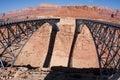 Navajo Bridge over the Colorado River Royalty Free Stock Image