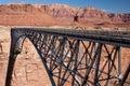 Navajo Bridge over the Colorado River Stock Photo