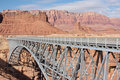 Navajo Bridge over Colorado River Stock Images