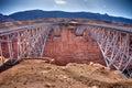 Navajo Bridge over the Grand Canyon Royalty Free Stock Photo