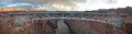 Navajo bridge a panorama of the in northern arizona Royalty Free Stock Image