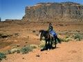 Navajo Girl Stock Photography