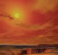 Navajo lands north arizona of the nation usa Stock Photography