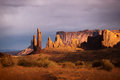 Navajo Monument Valley canyon in USA Royalty Free Stock Photo