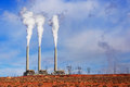 Navajo power generating station page az salt river project dzhenerating is a coal fired Stock Photos