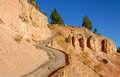 Navajo trail in bryce canyon national park utah Stock Images