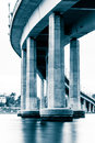 The naval academy bridge in annapolis maryland Stock Photography