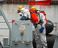 Naval firefighters