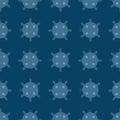 Naval mine seamless pattern vector illustration sea bomb background