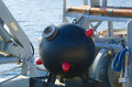 Naval mine from the second world Stock Photography