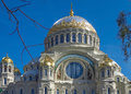 Naval Nikolsky Cathedral Royalty Free Stock Photo
