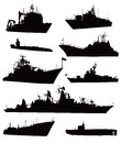 Naval set Stock Photography