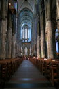 Nave of Cathedral in Cologne - Easter Stock Photos Royalty Free Stock Photo