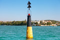 Navigation buoy Royalty Free Stock Photo