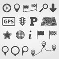 Navigation design elements set of Stock Photo