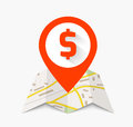 Navigation icon Royalty Free Stock Photo