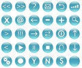 Navigation Icons for Applications and Web Royalty Free Stock Image