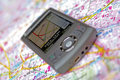 Navigation mobile phone GPS Stock Image