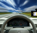 Navigation system Royalty Free Stock Image