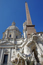Navona Square Royalty Free Stock Photography