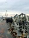 Navy Battle Ship Royalty Free Stock Photo