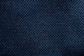 Navy blue background of fibre texture Royalty Free Stock Images