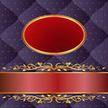 Navy blue and maroon background Royalty Free Stock Photography