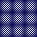 Navy Blue and White Small Polka Dots Pattern Repeat Background Royalty Free Stock Photo