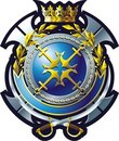 NAVY emblem Stock Photos