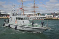 Navy patrol boat Stock Photos