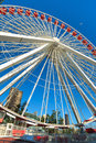 Navy Pier Chicago Ferris Wheel Royalty Free Stock Photo
