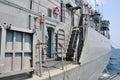 Navy ship Royalty Free Stock Photo