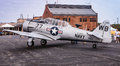 Navy SNJ Airplane Royalty Free Stock Photo