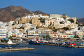 Naxos harbor, Greece Royalty Free Stock Photos