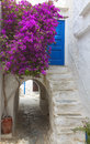 Naxos island in greece the medieval town of Stock Images