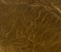 Nazca lines monkey as viewed from a plane peru Stock Photos