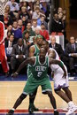 NBA All Star Kevin Garnett & Paul Pierce Stock Images