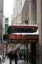 NBC Studios Stock Image