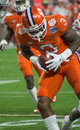 NCAA Football Clemson Tigers at the Fiesta Bowl Royalty Free Stock Photo