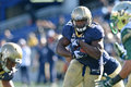 Ncaa football south florida at navy midshipmen fullback chris swain carries the ball during the american athletic conference game Stock Photography