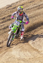 Nd annual sandbox gp grand prix motocross racing event held fernley nevada march Royalty Free Stock Photo