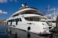 Nd international istanbul boatshow curvelle yacht in on september in turkey more than exhibitors and displayed boaats in Stock Images