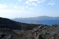 Nea Kameni Santorini Greece Royalty Free Stock Photos