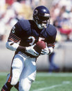 Neal anderson chicago bears rb image taken from color slide Stock Image